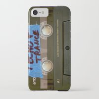 techno iPhone & iPod Cases featuring TECHNO by The Family Art Project