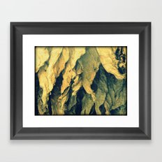Tobacco leafs Framed Art Print