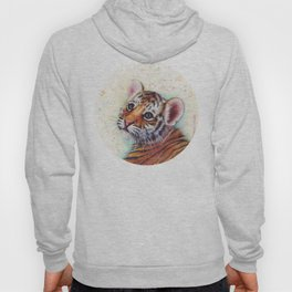 Tiger Cub Cute Baby Animals Hoody