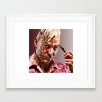 pagan Framed Art Prints featuring Pagan Min by Epinder Singh