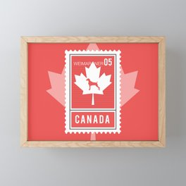 CANADA WEIM STAMP Framed Mini Art Print