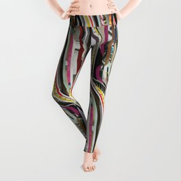 Origami Girl Leggings