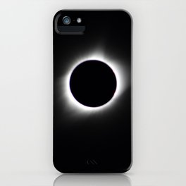 Total Solar Eclipse Corona iPhone Case