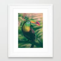 tropical Framed Art Prints featuring Tropical by Ben Geiger