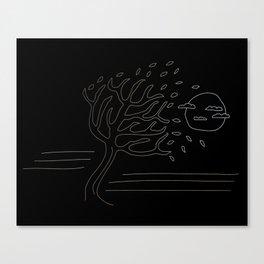 Overblown Canvas Print