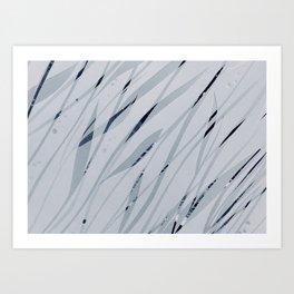 Water leaves Art Print
