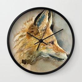 FOX#3 Wall Clock