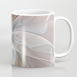 A Floral Friend, Abstract Fractal Art Coffee Mug