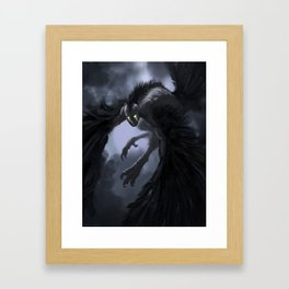 harpie-blue Framed Art Print