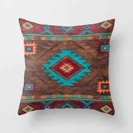 Bohemian Traditional Southwest Style Design Throw Pillow
