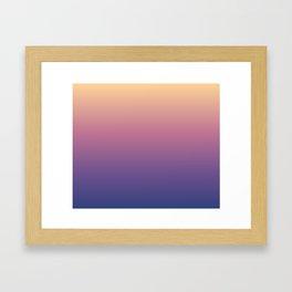 Chicago Afternoon Gradient Framed Art Print