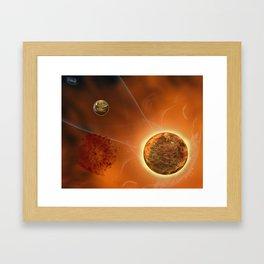 Hot Rock Framed Art Print