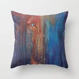 Omniscient  Throw Pillow