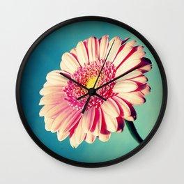 Gerbera Pinkness Wall Clock