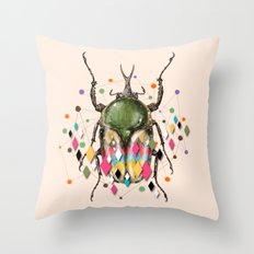Insect VII Throw Pillow