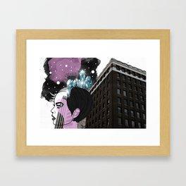 Crystal Mind Framed Art Print