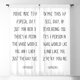 You've made this day a special day, Blackout Curtain