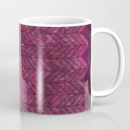 Painted Chevron Coffee Mug