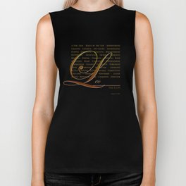 Sign Language for Leo Biker Tank
