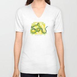 Crucified Serpent Unisex V-Neck