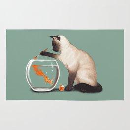 Goldfish need friend Rug