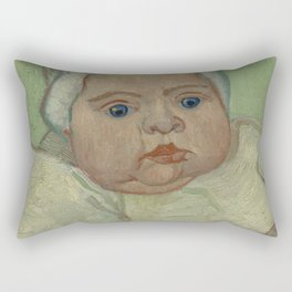 Portrait of Marcelle Roulin Rectangular Pillow