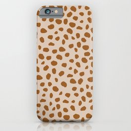 Jaguar | Brown iPhone Case