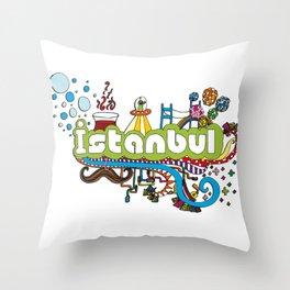 Hilarioustanbul (: Throw Pillow