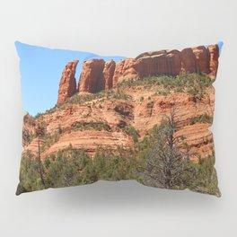 Red Sandstone Rockformation Pillow Sham