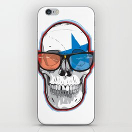 The 3D Star Punk iPhone Skin