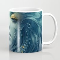 ink Mugs featuring Ink by Anna Dittmann