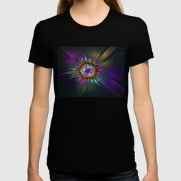 Fantasy Flower Fractal T-shirt