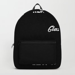 Real Men Marry Glaziers Gift for Husband T-Shirt Backpack