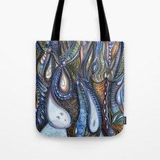 Dewdrop Meets the Rain Tote Bag