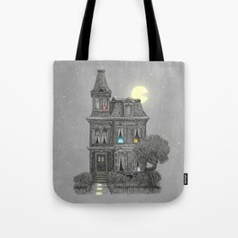 Haunted by the 80's Tote Bag