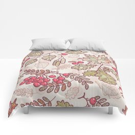 Colorful Autumn Leaves Comforters