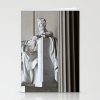lincoln Stationery Cards featuring Lincoln.  by Jeska Speck