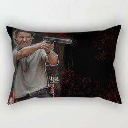 The Walking Dead - Rick Grimes Rectangular Pillow