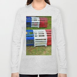 Acadian Lobster Traps Long Sleeve T-shirt
