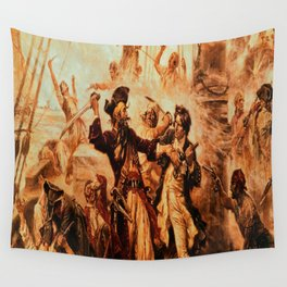 pirate King Wall Tapestry