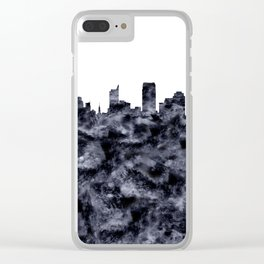 Sacramento Skyline California Clear iPhone Case
