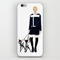 givenchy iPhone & iPod Skins featuring Givenchy  by Jo Lee