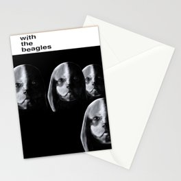With the Beagles (Remastered) Stationery Cards