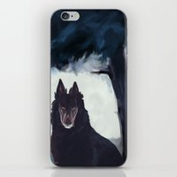 the hound iPhone & iPod Skins featuring Hound by Aim Ren