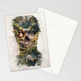 The Gatekeeper Surreal Dark Fantasy Stationery Cards