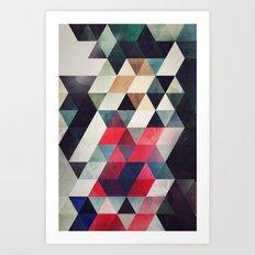 ryplycmynt yttympt Art Print