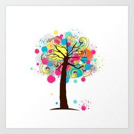 Tree #03 Art Print