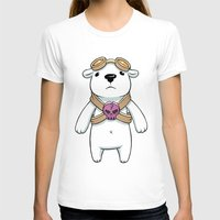 pilot T-shirts featuring Polar Pilot by Freeminds