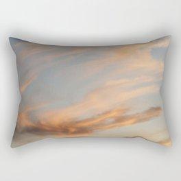 Fiery Sky #2 Rectangular Pillow