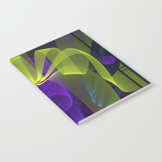 Modern abstract in 3-d Notebook